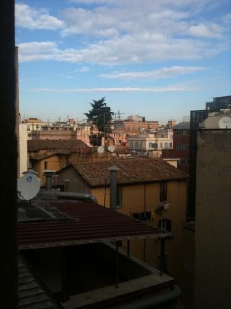 When In Rome Accommodation: View from Window of Rome