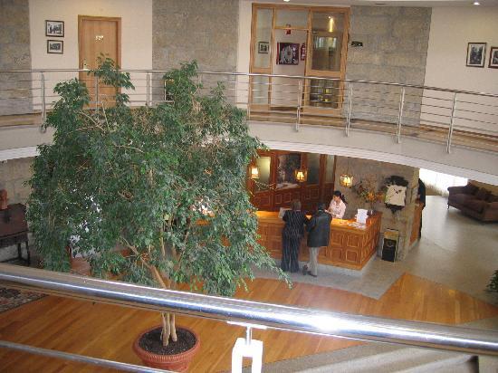 Balneario de Mondariz: recepcion