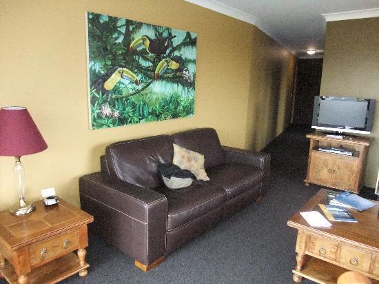Whale Motor Inn: Lounge area