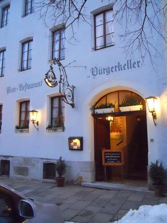Bürgerkeller: Burgerkeller exterior