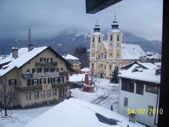 St Johann in Tirol, Østerrike: View from  boys room