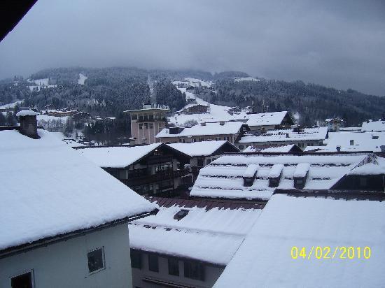 St Johann in Tirol, Østerrike: View from our room