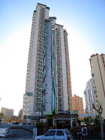 Playamar Apartments Click Benidorm: Conctrete Block