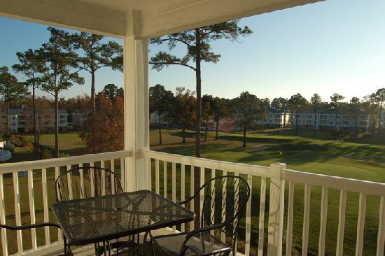 Myrtlewood Villas: Captivating balcony views