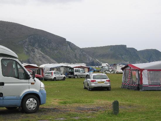 Keel Sandybanks Caravan & Camping Park: Caravan park,Keel