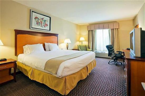 Holiday Inn Express Birmingham/Inverness: King Guestroom