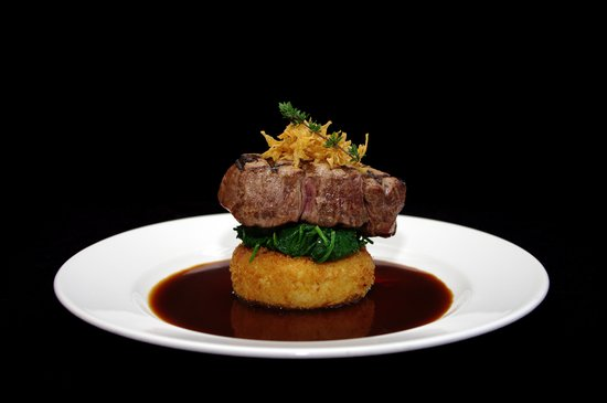Rhubarb Restaurant: Matured Lancashire fillet steak