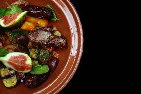 Rhubarb Restaurant: Morrocan lamb tagine