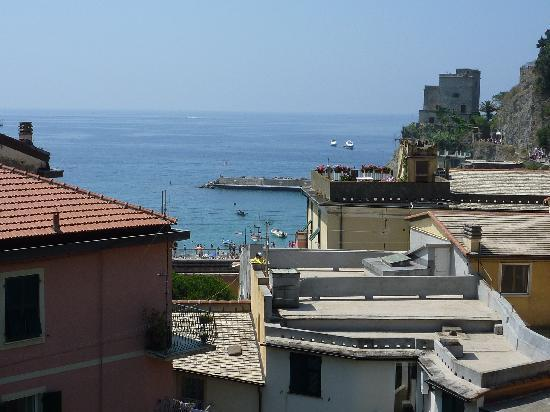 La Colonnina Hotel: View from the terrace - it's better than it looks