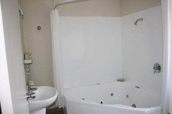 BK's Rotorua Motor Lodge: Bathroom