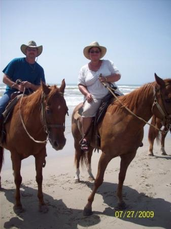 Horses On The Beach: Corpus Christi : the guide took this pic for us