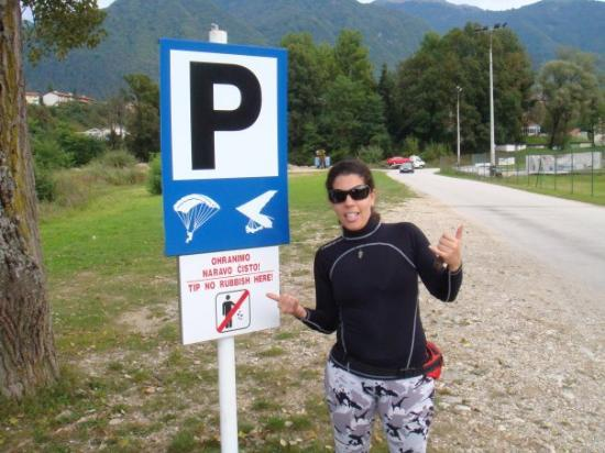 Tolmin Gorge: SEPT08 - Park your aircraft here!
