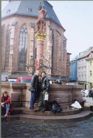 Heidelberg, Germany: Me & Sam