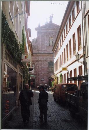 Heidelberg, Germany: Sam & Chehadi in Old Heidlberg