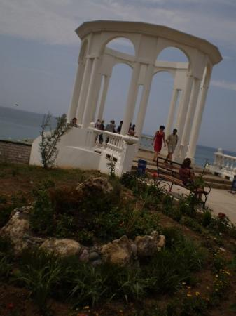 Simferopol, Ukraina: The gazebo near the beach.