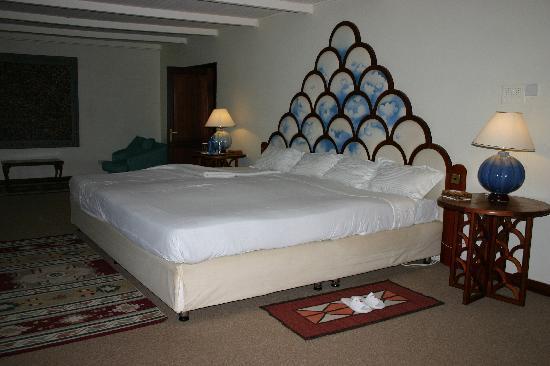 Nanyuki Town, Kenya: The sleeping area