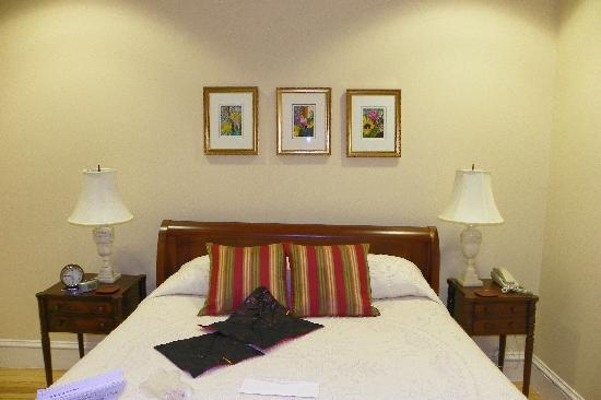 Embassy Circle Guest House: view of my bed