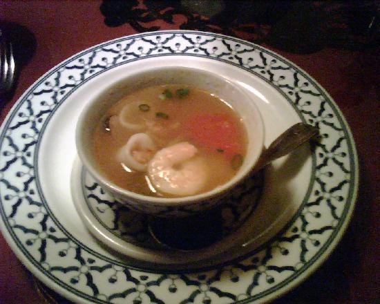 Thai Garden: Seafood Soup