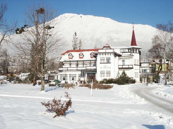 Villa Dr. Szontagh: facade
