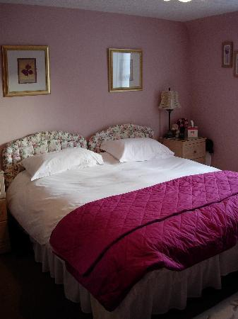 Bridgend House Bed & Breakfast: Cozy bed!