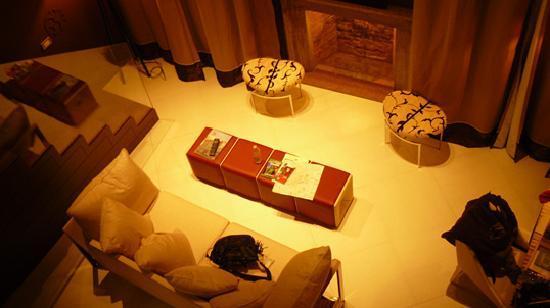 SINA Centurion Palace: l'espace salon vue du haut