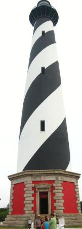 Buxton, Carolina del Nord: Cape Hatteras light house.  The most famous lighthouse in the world.