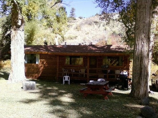 Antonito, Kolorado: The Cottonwood Cabin at The Conejos River Ranch in Colorado
