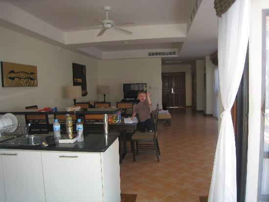 Angsana Villas Resort Phuket: 3 bedroom downstairs