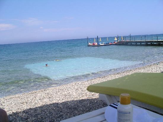 Renaissance Antalya Beach Resort & Spa : mer