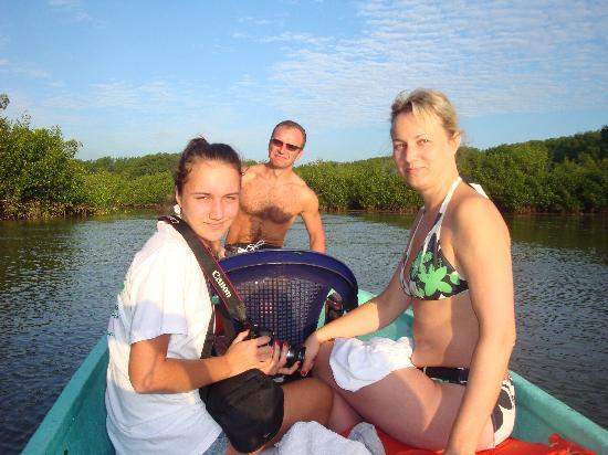 Hotel La Tranquilidad: Mangro river boat trip