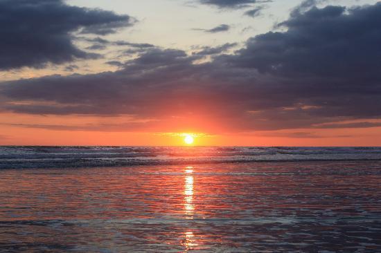 Hotel La Tranquilidad: sunset