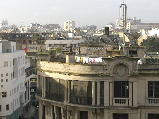 Hotel Guynemer : Vue de la terrasse de l'Hotel de Paris