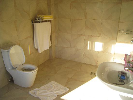 Alona Golden Palm Resort: super bathroom