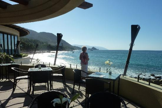 Garza Blanca Preserve, Resort & Spa: View from the restaurant