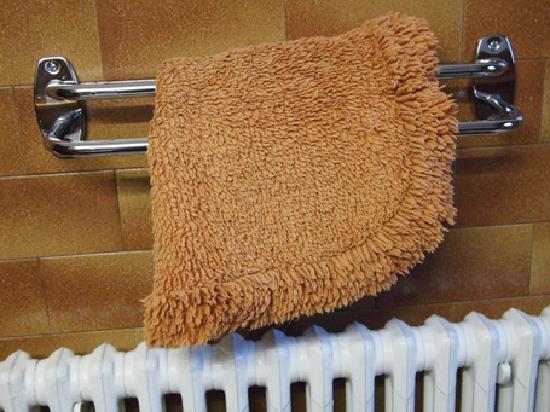 Hotel Etoile d'Or: Bath mat