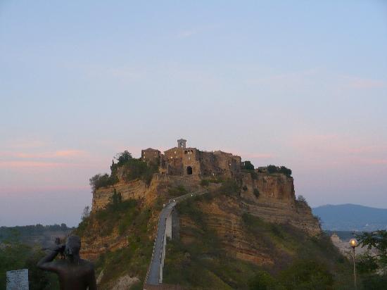 Civita as seen from Bagnoregio