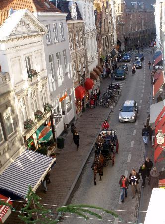 Hotel Erasmus: vistas desde la ventana