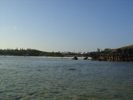 Aquarius Club: spiaggia aquarius pomeriggio