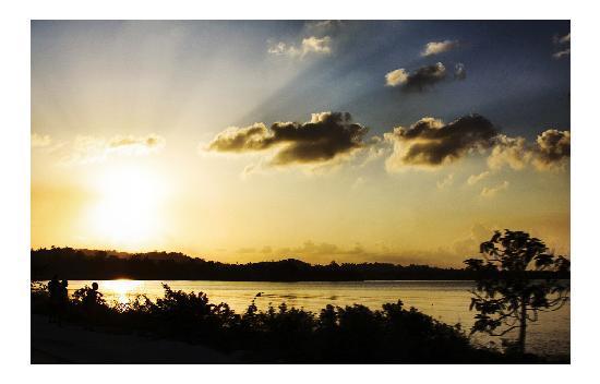 سان سيت أون ذا بيتش ريزورت: sunset