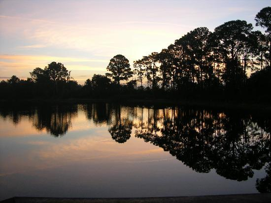 Bahama Bay Resort Orlando by Wyndham Vacation Rentals: The beautiful sunsets you see there...