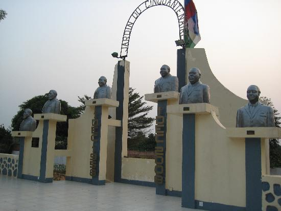 Bangui, República Centroafricana: Memorial of the revolution