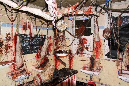 Spookers Haunted Attractions: Butchers room
