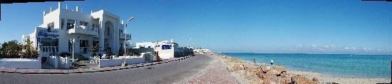 Hotel Flamingo Beach: Flamingo et la Méditerranée