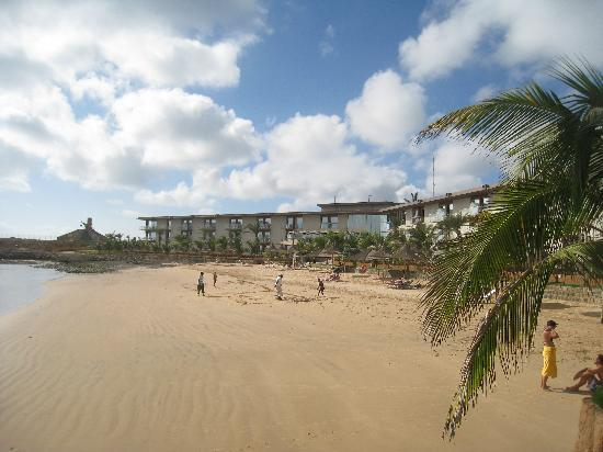 Terrou-Bi : View of the hotel's own beach