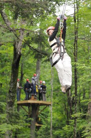 Zoar Outdoor/Deerfield Valley Canopy Tours: That's me