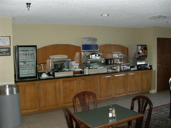 Tarboro, Carolina del Norte: Breakfast Bar
