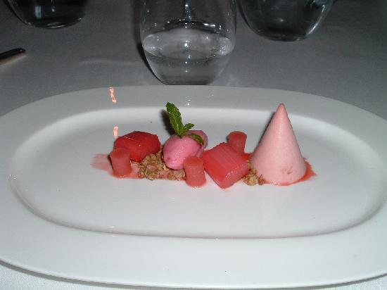 Swinton Park: Chef's special sweet.