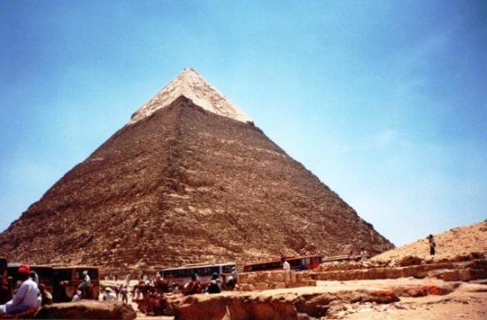 Cheops-Pyramide: Giza, Egypten 1995