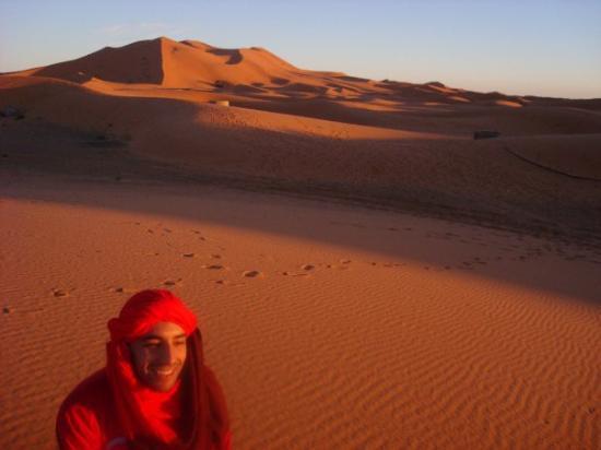 Merzouga Desert: sunshine merzouga