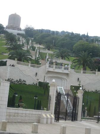 Baha'i Gardens and Golden Dome Photo